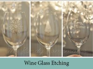 Wine Glass Etching