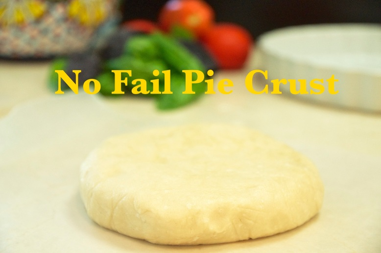 No Fail Pie Crust - Vegan
