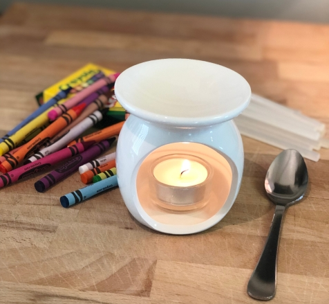 Candle warmer for sealing wax